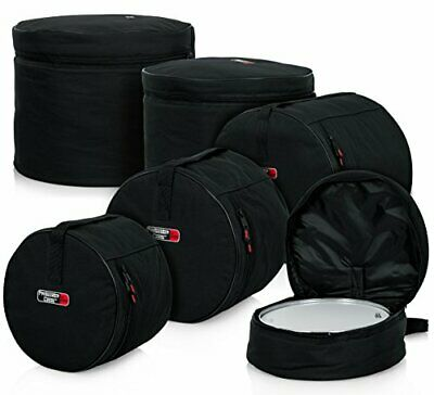 Gator*GP-STANDARD-100*Padded 5-Piece Drum Set Cases FREE SHIPPING NEW