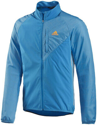 adidas Tour Commuter Mens Cycling Jacket - Blue