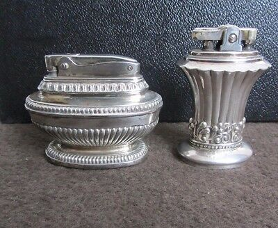 Vintage Ronson Queen Anne & Newport Table Lighters