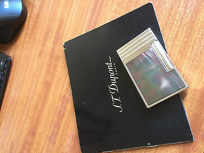 Dupont Lighter Mother of Pearl