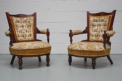 Pair of Chairs. Antique. Mahogany. Victorian/Edwardian. Vintage - We Can Deliver