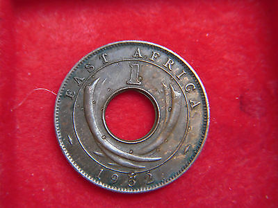 1952 George V1 One Cent From British East Africa