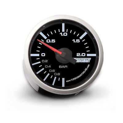 Turbosmart 52mm Mechanical Turbo Boost Gauge 0 - 2 BAR
