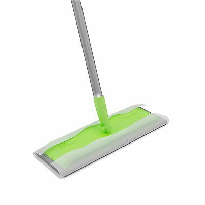 Static Cleaning Mop Sweeper Wet Or Dry Wipes Laminate Wood Tile Floor Cleaner