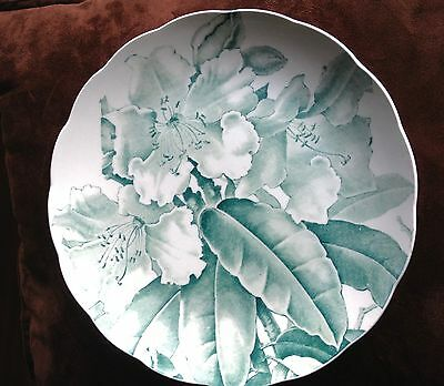 Antique Victorian Aesthetic Transer Plate Orchids Brown Westhead Moore & Co Kew