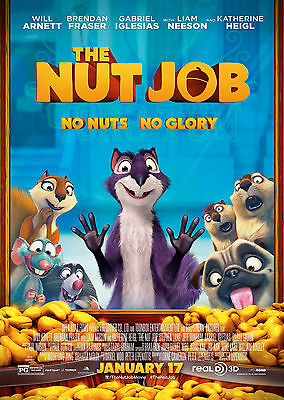 The Nut Job (2014) - A1/A2 POSTER **BUY ANY 2 AND GET 1 FREE OFFER**