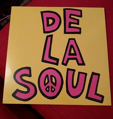 "De La Soul Me Myself And I Neopolitan Mix Double 12"" Vinyl"