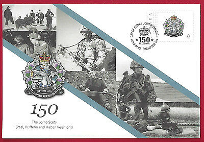 2016   Canada Special Event Cover   THE LORNE SCOTS     Unaddressed New Listing
