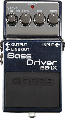 BOSS BB-1X Bass Driver - Emphasises Original Characteristics of Bass and Amp