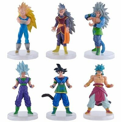 DBZ Dragon Ball Z Super Saiyan Goku Vegeta Gohan WCF Figure Toy Set of 6pc G4