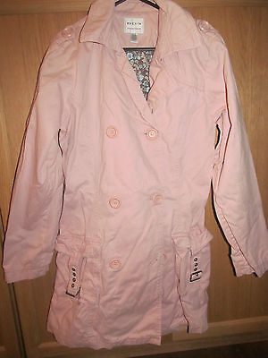 NEXT Girls Pale Pink Coat 15 16 yrs. Exc.Cond.