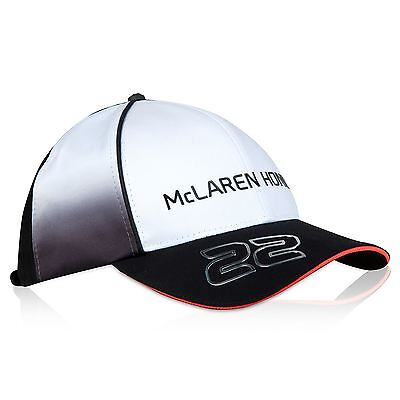 McLaren Honda Unisex Official 2016 Jenson Button Cap - Black