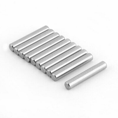 Stainless Steel Parallel Round Dowel Pins Fastener Elements 5mm Dia 30mm Length