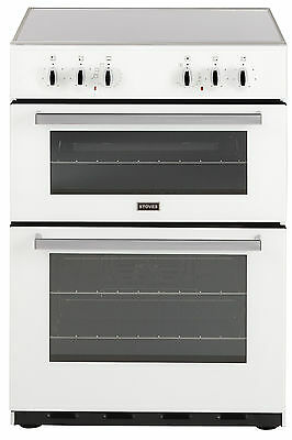 Stoves SEC60DO 60cm Elec Cooker with Double Ovens, Grill & Ceramic Hob!