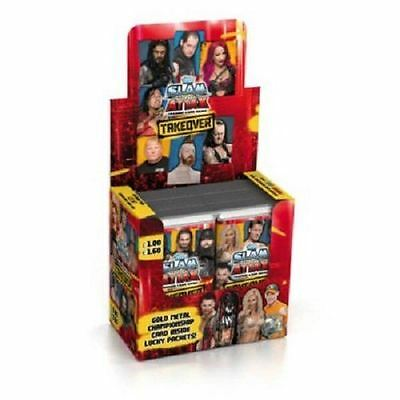 Topps WWE Slam Attax NXT Takeover Packs Trading Card Game - 1, 5 or 10 Packs NEW