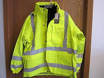LaCrosse Mountain Pass 3 in 1 Parka ANSI/ISEA Certified 2X Lime Green NEW