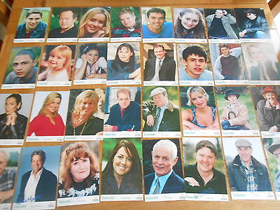 40 x  EMMERDALE CAST CARDS ALL DIFFERENT