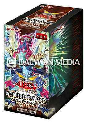 """Yugioh Cards """"Collectors Pack: Duelist of Flash"""" Booster Box / Korean Ver"""