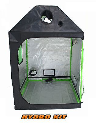 Premium Loft Attic Grow Tent 600D Mylar Indoor Roof Hydroponics Dark Room cube