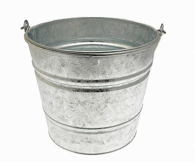 2x Cleenol 135957 Galvanised Bucket Large NEW MULTIBUY SAVER