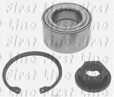 2x Wheel Bearing Kits Front FBK743 First Line 1061596 1085569 1085568 1112547