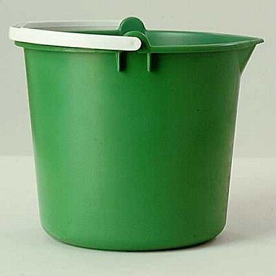 2x Light Duty Plastic Bucket - 10 Litre Cleenol 135965 NEW MULTIBUY SAVER