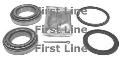 2x Wheel Bearing Kits Rear FBK020 First Line C15230 C19066 Quality Replacement