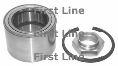 2x Wheel Bearing Kits Front FBK968 First Line 332669 332663 1328054080 Quality