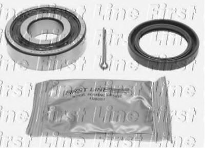 2x Wheel Bearing Kits Rear FBK162 First Line 311501283 Top Quality Replacement