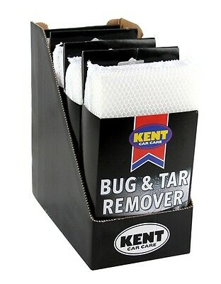 2x Bug & Tar Remover Pads - CDU of 4 Kent O9230CDU NEW MULTIBUY SAVER