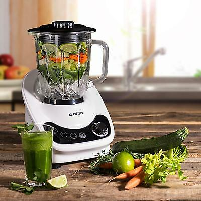 Standmixer 1,5 L Ice Crusher Smoothie Maker 800 W Blender Pulse Funktion 1,1 PS