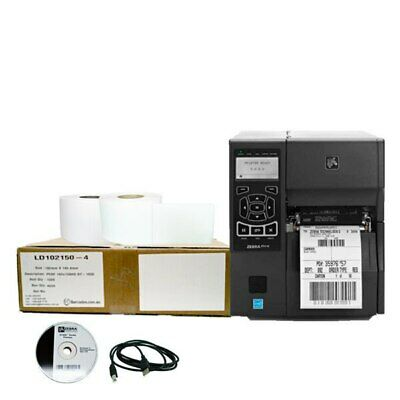 Shipping Label Printer Package Zebra ZT410 Printer