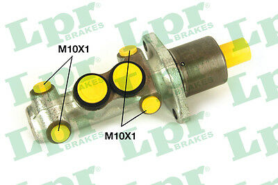 2x Brake Master Cylinders 1205 LPR 460187 P11544 Genuine Top Quality Replacement