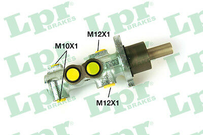 2x Brake Master Cylinders 1947 LPR 4601F8 4601N2 P11913 Top Quality Replacement