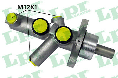 2x Brake Master Cylinders 1448 LPR 0054307701 A0054307701 P30306 Quality New