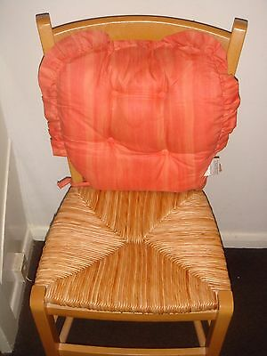 Vintage Bamboo Seat Solid Wood Frame Chair