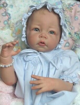 ❤️Beautiful Reborn Doll Baby❤️ Custom Made From Luca Kit By Ely Knoops ❤️