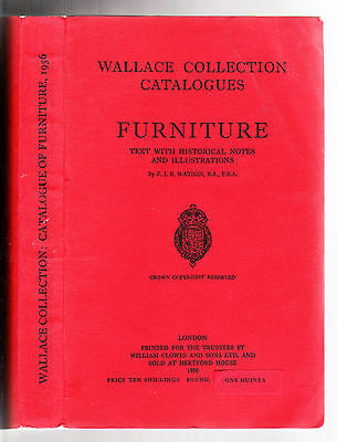 Huge Catalog of WALLACE COLLECTION, 1956 Furniture Collection of the Century