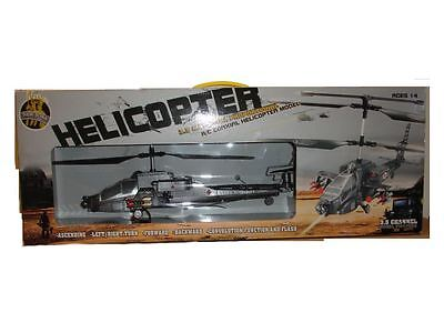 New York Gift Co. Remote Control Military Heli 3-Channel with Gyro