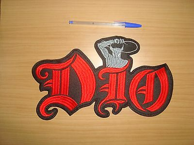 DIO - LOGO Embroidered BACK PATCH RONNIE JAMES DIO