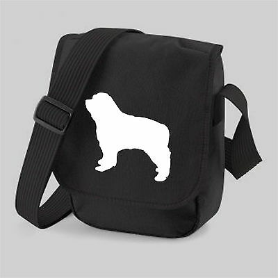 Pyrenean Mountain Dog Bag Silhouettes Reporter Shoulder Bags Great Pyrenees Gift