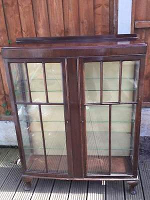 Early 20th Century Vintage Display Cabinet