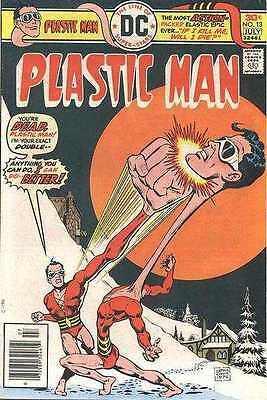 Plastic Man (1966 series) #13 in Near Mint - condition. FREE bag/board