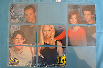 Buffy the Vampire Slayer Season 4 premium trading cards New Beginings part set