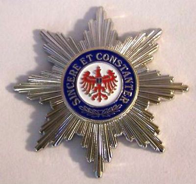 German Prussia Knight Red War Battle Eagle Badge Medal Star Order Empire King X