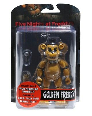 Funko Five Nights At Freddy's: Golden Freddy Articulated Vinyl Action Figure Toy