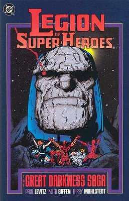 Legion of Super-Heroes (1980 series) The Great Darkness Saga #1 in VG + cond