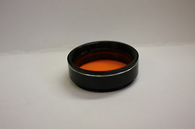 "1.25"" Orange Telescope Eyepiece Filter #21 Planetary  - Free USA Shipping"
