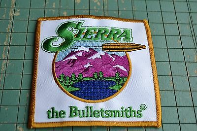 SIERRA THE BULLETSMITHS PATCH target shooting sports big 3 1/2 square patch