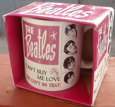 The Beatles~Coffee Mug~New In Package~Free Shipping